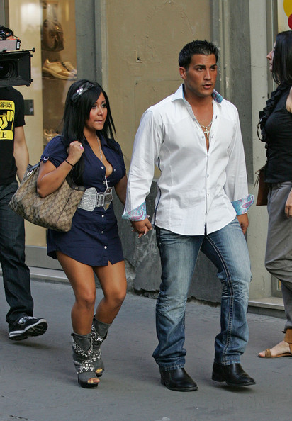 Coupled Up: Snooki And Boyfriend!