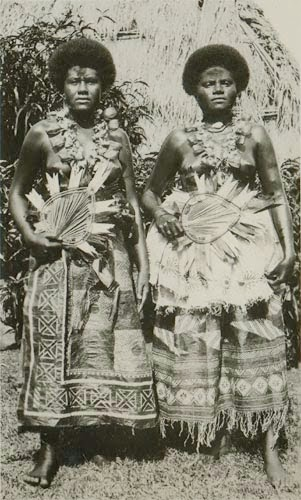 Fijili Kadınlar Fijili Kızlar