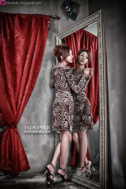 2 Leopard Girl - Seo Jin Ah-Very cute asian girl - girlcute4u.blogspot.com