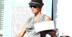 Maternity Style - Pregnant Halle Berry Counting Down the ...