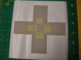 Multicolor 39 s blog anleitung zum formenbau mit karton und for Dc fix folie holzoptik