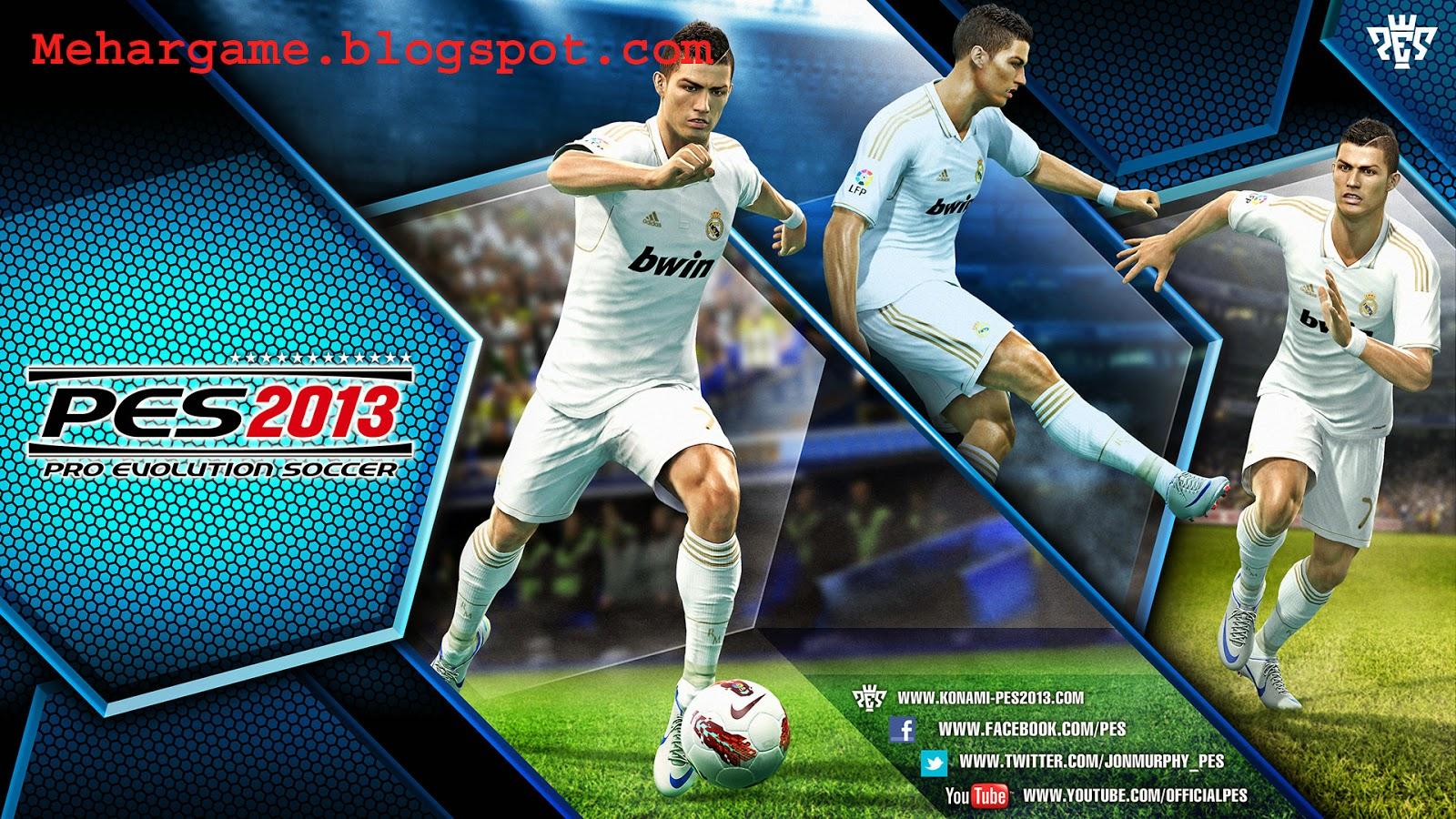 download game pes 2013 compressed
