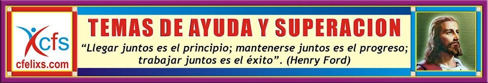 TEMAS AYUDA Y SUPERACION