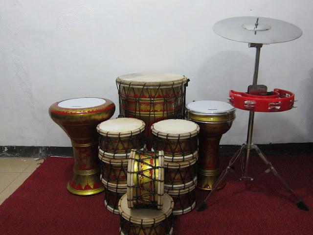 Gambar alat musik marawis batik