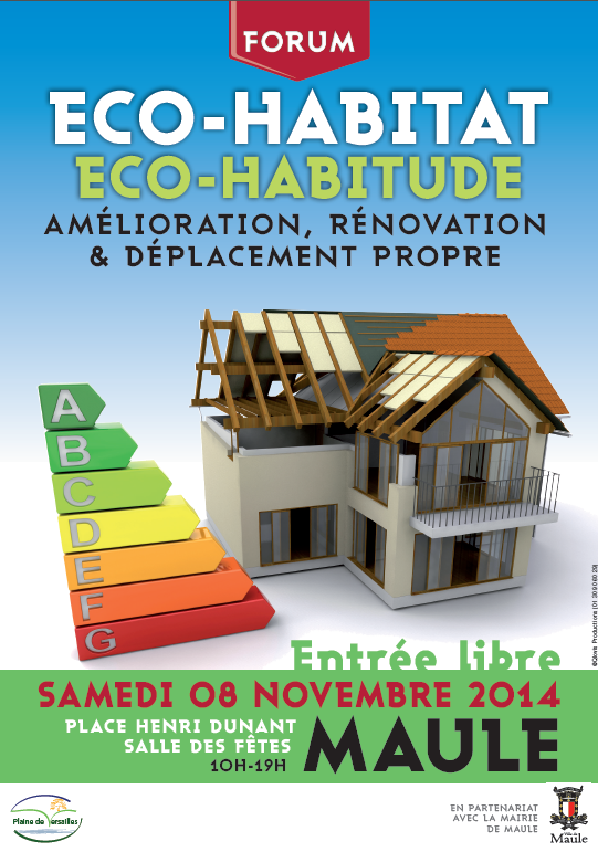 Eco habitat eco habitude for Salon eco habitat