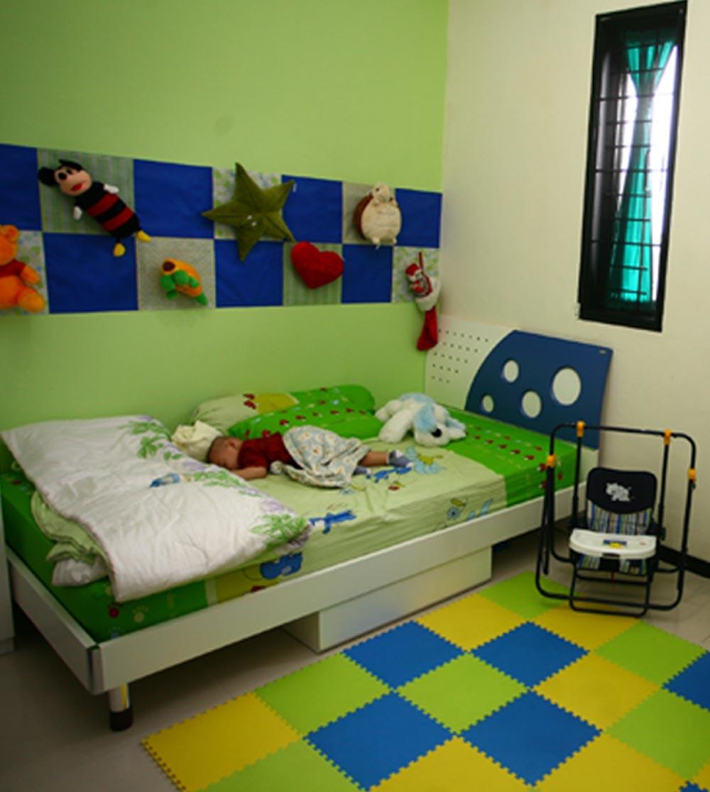 Warna Cat kamar Anak Yang Cocok dan Bagus ~ Kamar Minimalis