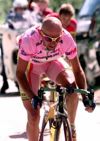 Aniversario de la muerte del ciclista Marco Pantani
