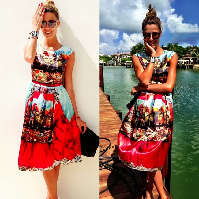 2013 SS Dolce & Gabbana inspired dress