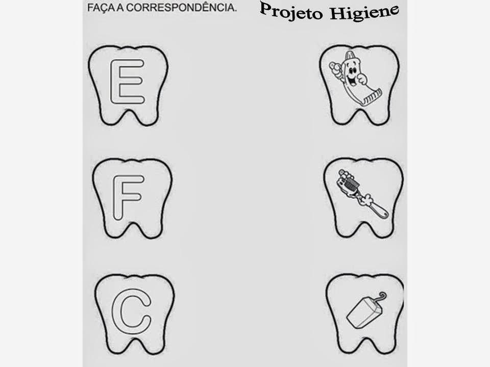 CANTINHO DA TIA FÊ HÁBITOS DE HIGIENE - imagens para colorir hábitos de higiene