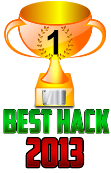 Best Hack 2013 Award