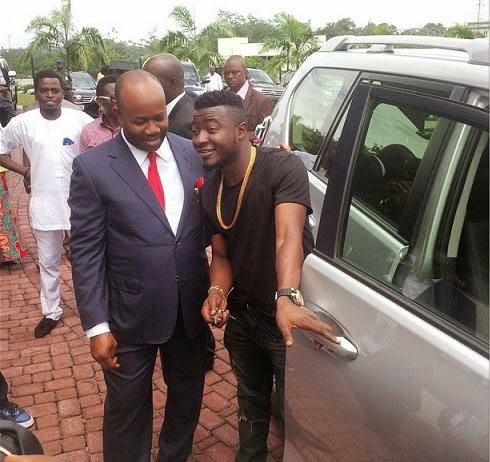 akpabio mc galaxy toyota prado jeep