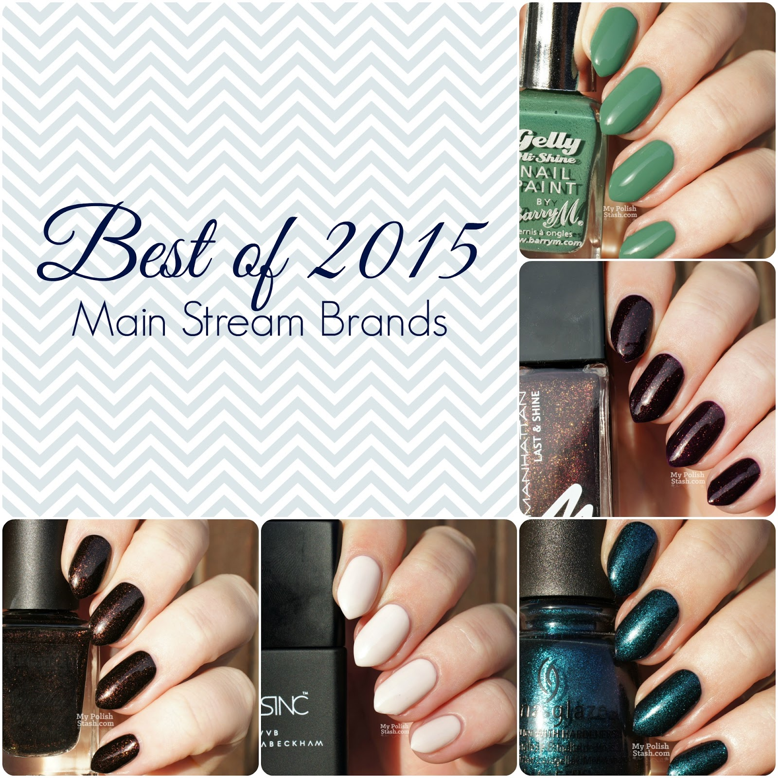 My Polish Stash: Best of 2015 - My Favorite Main Stream Nail Polishes