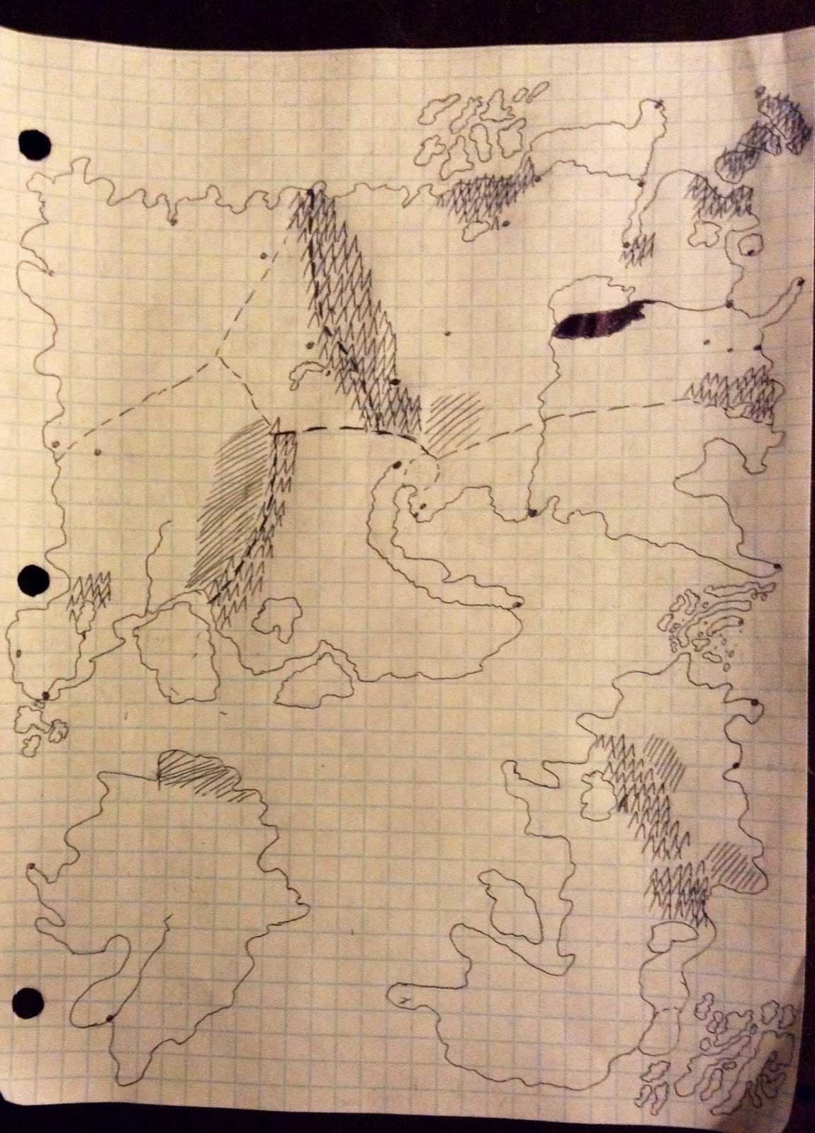 It's not much, but it's my fictional fantasy world.