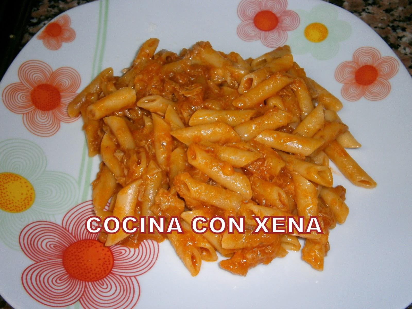Cocina con xena macarrones con berenjena at n natural for Cocina con xena olla gm d
