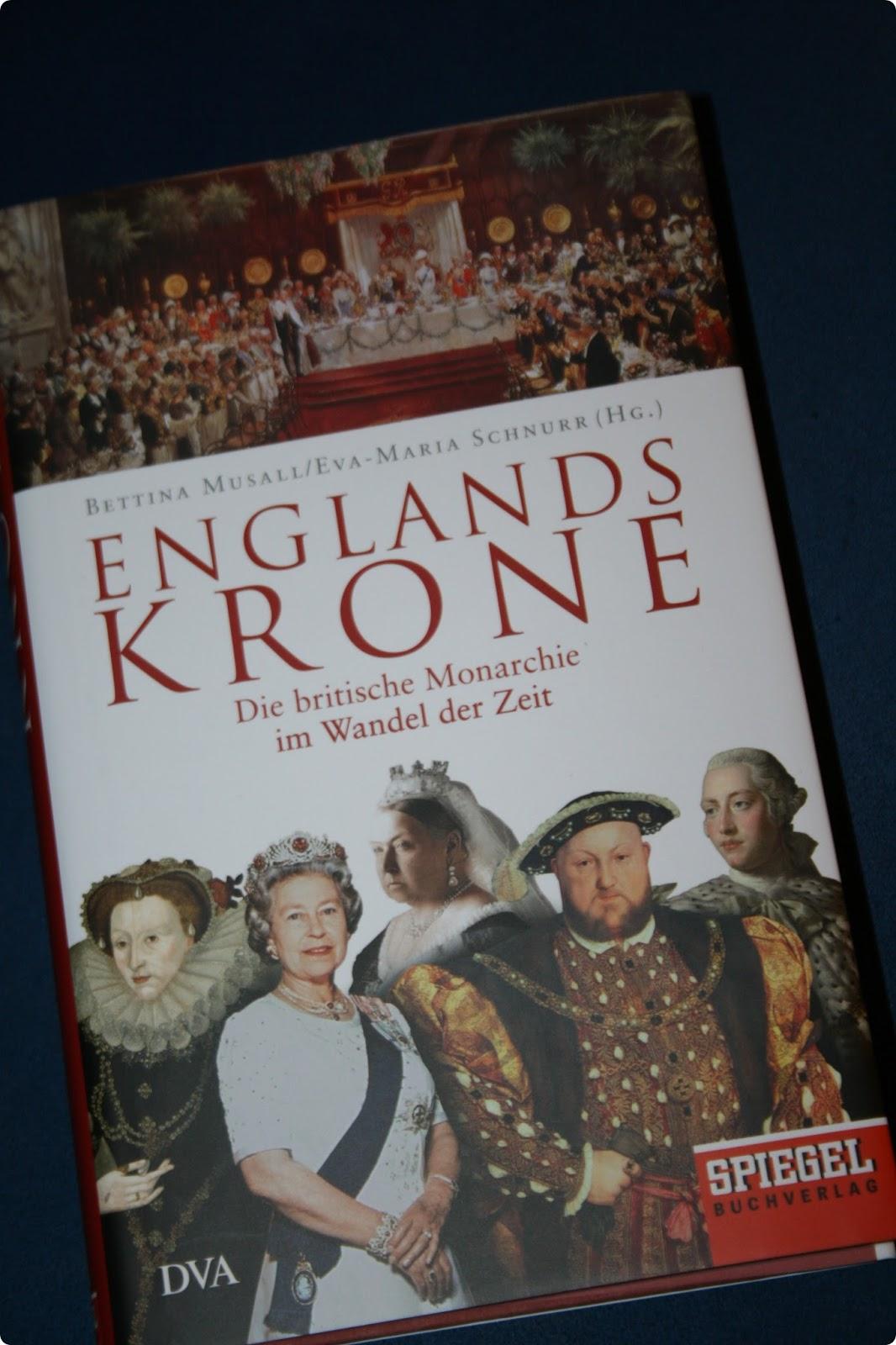 Papier und tintenwelten rezension englands krone von for Englisch krone