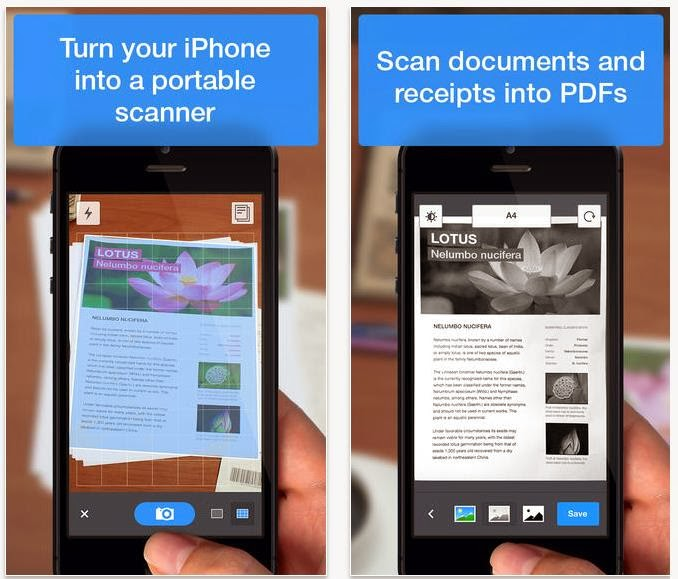 Scanner Pro now available for FREE download for your iPhone, iPad and iPod Touch, scan and convert your documents into PDF
