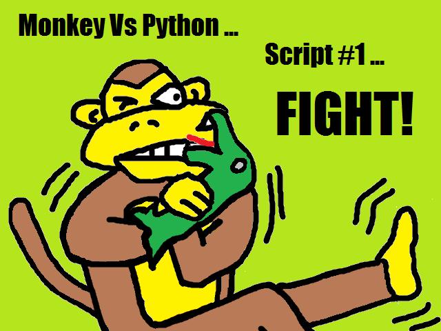 Cheeky4n6Monkey - Learning About Digital Forensics: Monkey Vs Python