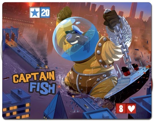 King of New York power Captain fish