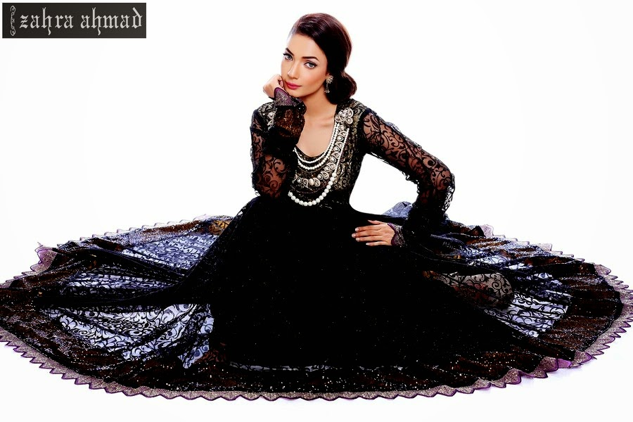 Zahra Ahmed Designer Eid Dress
