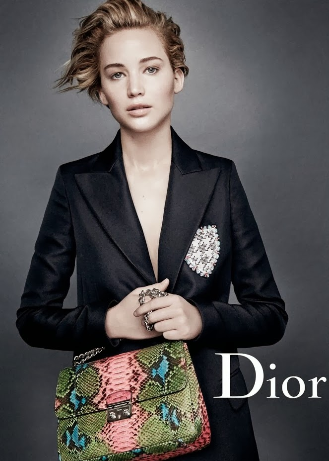 jennifer lawrence stuns in new dior campaign images 01 Jennifer Lawrencelı yeni Dior reklamı