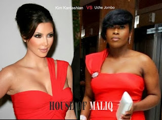Holly Vs Nolly ; Uche Jumbo vs Kim who wore the One Hand Dress Better ?