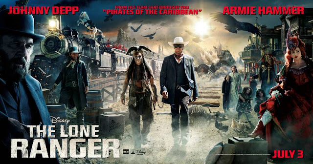 #LoneRanger is almost here!