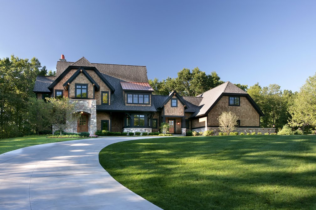 Architectural tutorial shingle style visbeen architects for Shingle style architecture
