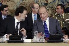 Rey y Rajoy Consejo Ministros