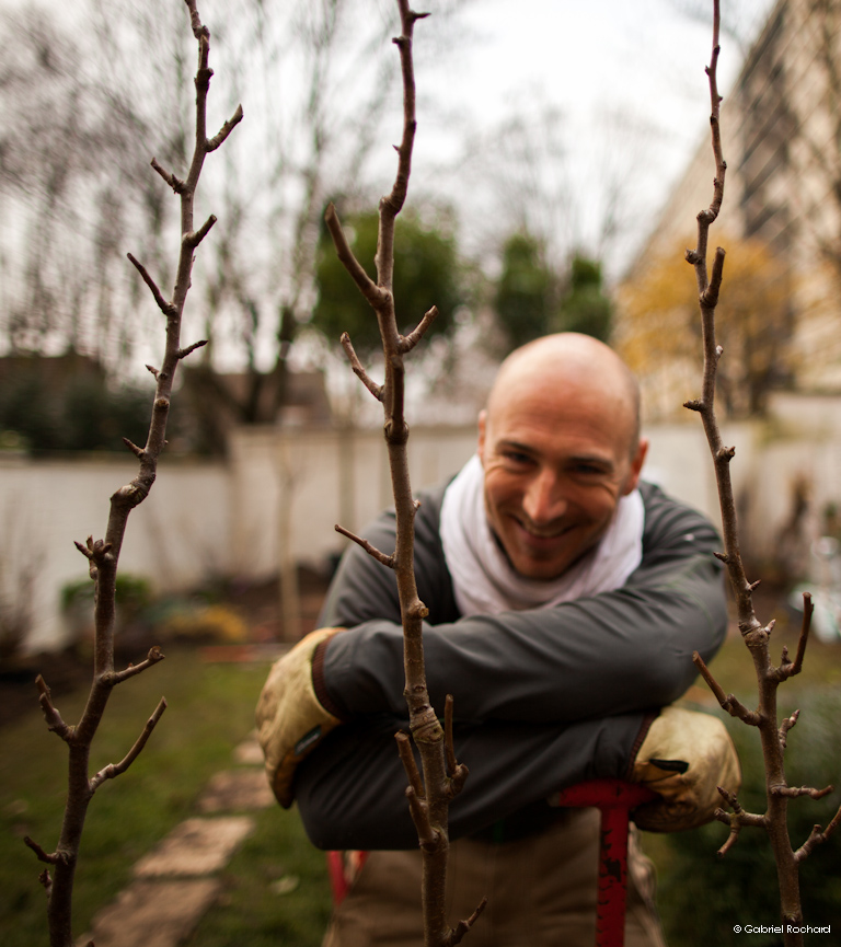 jardins cosmopolites plantation de fruitiers am nagement paysager d 39 un jardin pr s de paris. Black Bedroom Furniture Sets. Home Design Ideas