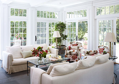 New England Home In Summer Style Interior Heaven