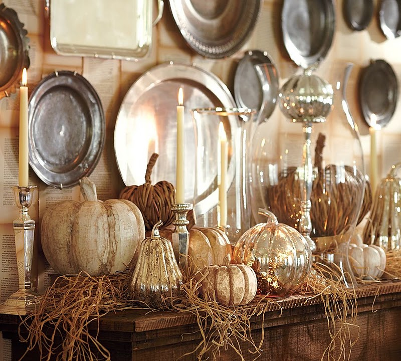 halloween decor is well known for being either too spooky or too cheesy but i think pottery barn has put a classy spin on this years decor - Pottery Barn Halloween Decorations