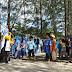 Di Pantai Hamadi, PKS Kota Jayapura Launching Pembinaan Anak Kader