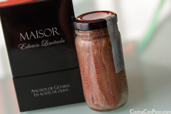 Anchoas de Getaria Maisor - Edicin Limitada
