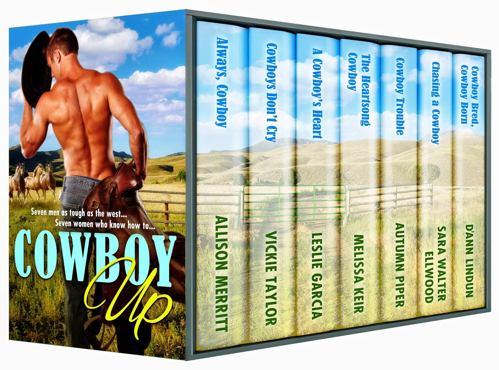 http://www.amazon.com/Cowboy-Up-Allison-Merritt-ebook/dp/B00NDAS9ZM/