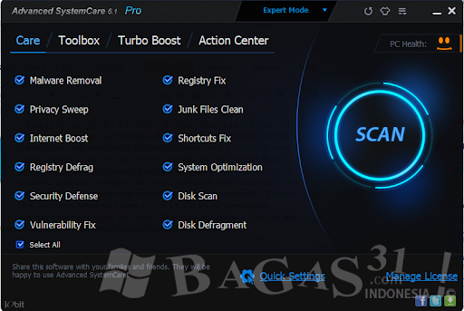 Advanced System Care 6.1.9.215 Pro Full Serial 2