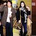 Harry Styles y Kendall Jenner saliendo juntos del hotel
