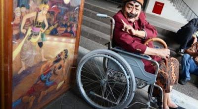 [Citizen6] Kisah Pak Raden saat Menjual Lukisan ke Jokowi untuk Berobat