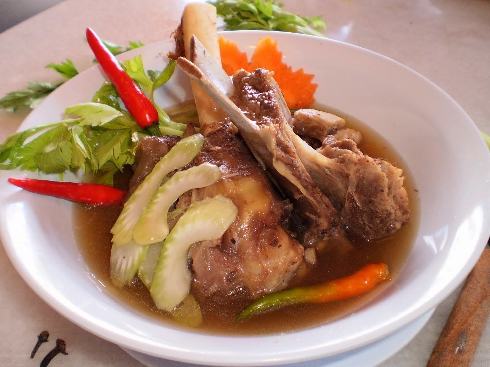 Resepi Sup Daging ala Utara