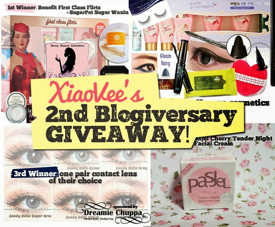 http://www.xiaovee.com/2014/02/xiao-vees-2nd-blogiversary-giveaway.html