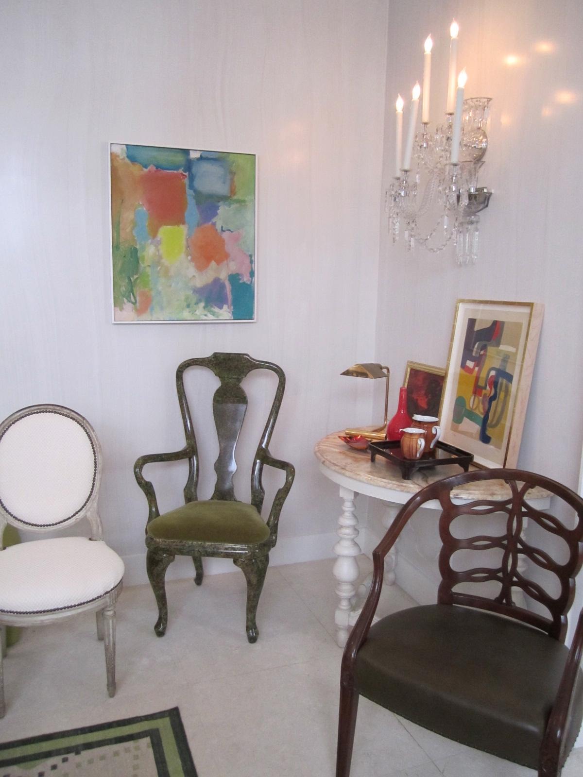 Bobbin Chair Living Room