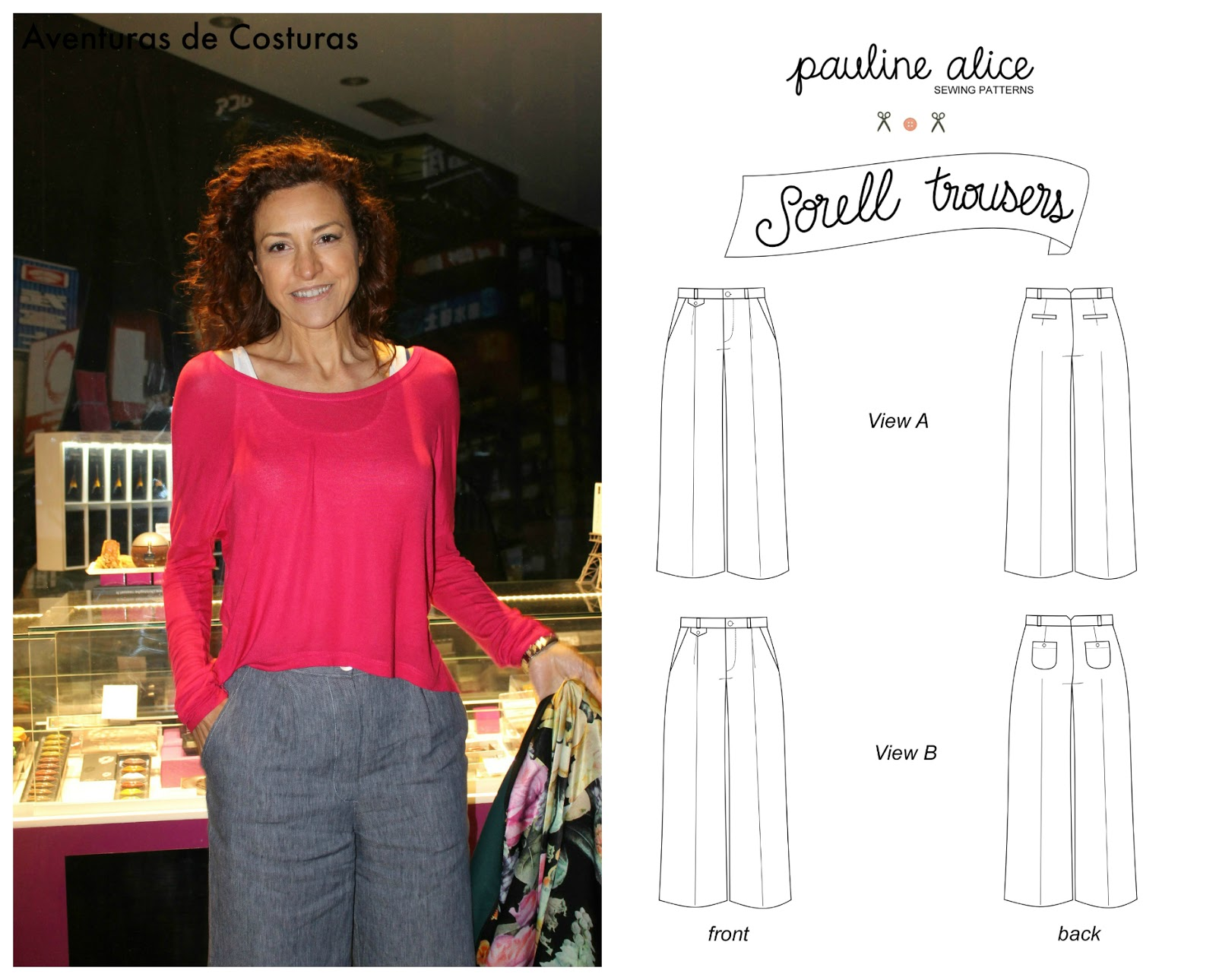 Sorell Trousers by Pauline Alice   Aventuras de costuras   Bloglovin\'
