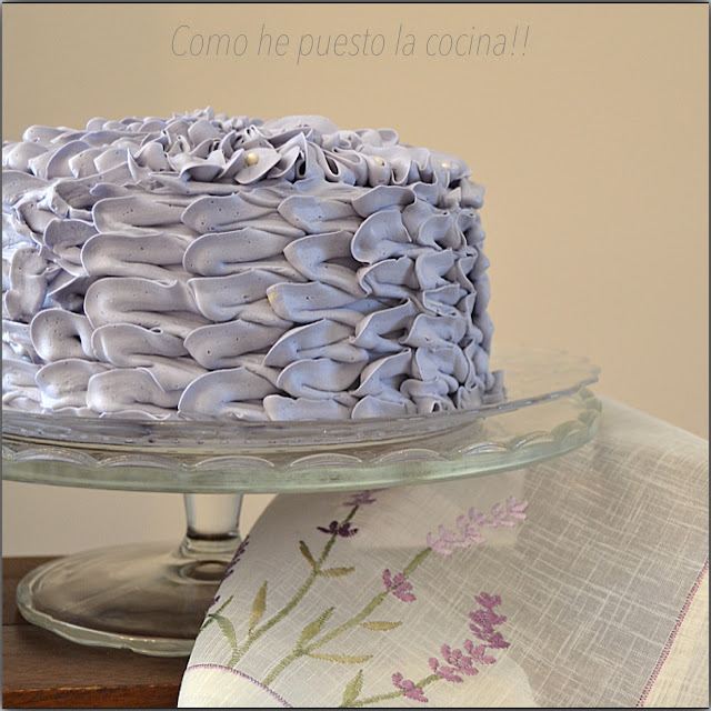 DECORAR TARTA-SWISS MERINGUE BUTTERCREAM