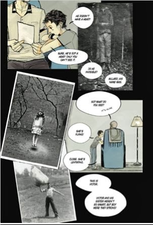 sample page #1 from MISS PEREGRINE'S HOME FOR PECULIAR CHILDREN : The Graphic Novel