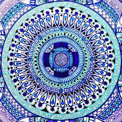 """""""Purple Mandala"""""""