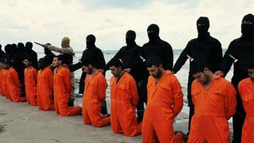 cristãos perseguidos, cristãos coptas, cristão coptas decapitados, 21