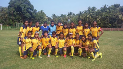 U-18 Girls National Football Championship 2015 Results