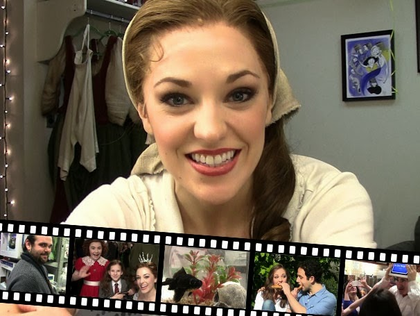 The Princess Diary with Cinderella star Laura Osnes