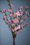 arranjo arvore orquidea rosa