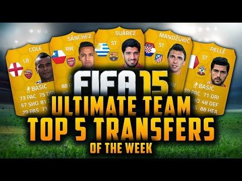 لعبة المباراة للاندرويد FIFA 15 Ultimate Team