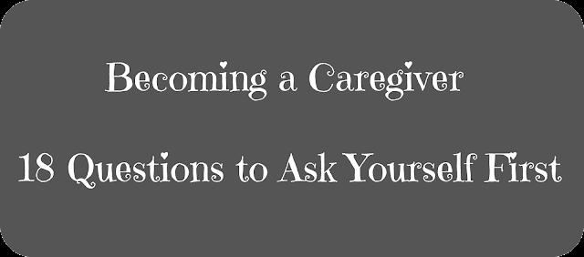 important caregiver questions